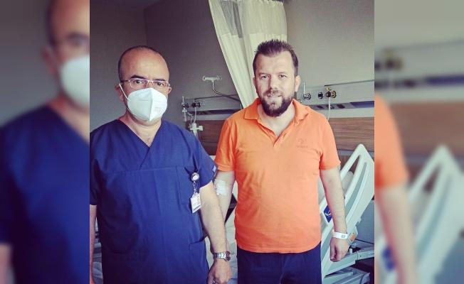 Gazeteci Necmi İnce Şehir Hastanesi'nde Ameliyat oldu