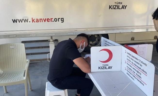 TÜRK KIZILAY BURSA ŞUBESİ'NDEN KAN BAĞIŞI ÇAĞRISI