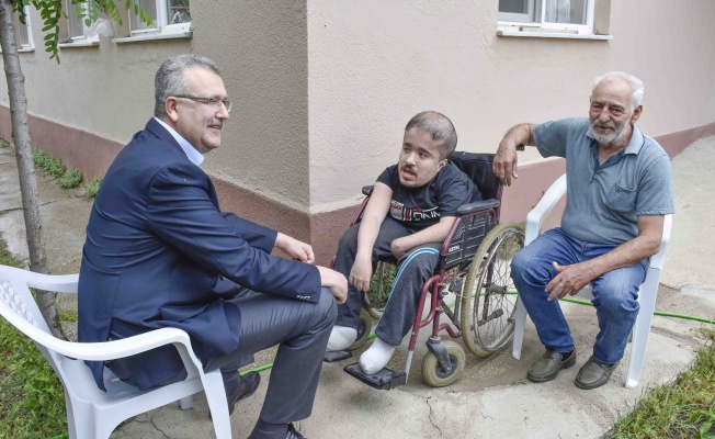 Başkan Özkan'dan Babalar Günü için en özel kutlama