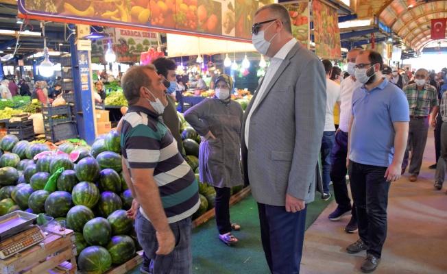 Karacabey'de yeni pazaryeri projesi geleceğe hitap edecek