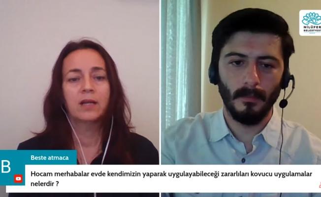 """NİLÜFER'DE """"GIDA VE TARIM"""" EĞİTİMLERİ BAŞLADI"""