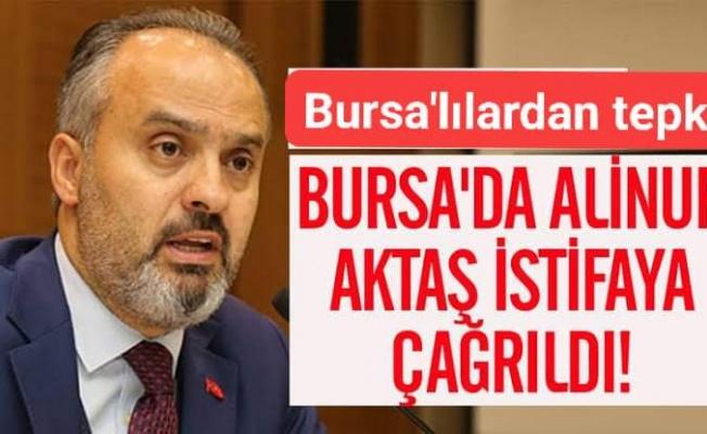 Bursa'da 'stadyum' krizi: #AlinurAktaşistifa etiketi TT oldu Bursa'da 'stadyum' krizi: #AlinurAktaşistifa etiketi hit oldu
