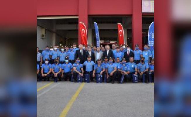 Akdeniz'deki hizmet neferleri Bursa'ya döndü