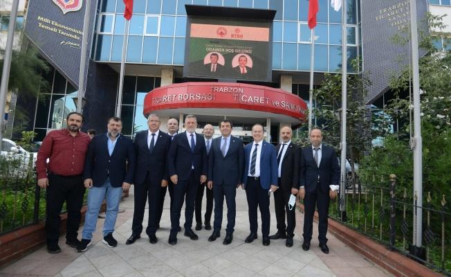 BTSO Meclis Üyeleri Trabzon ve Rize'de