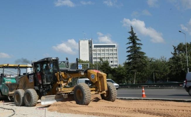 Bursa Büyükşehir Belediyesi ulaşımda hız kesmiyor