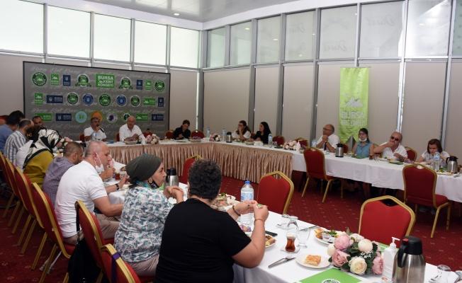 Bursa Kent Konseyi'nden önemli buluşma