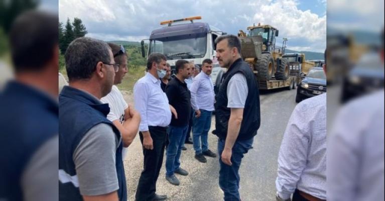 """Bursa Milletvekili Esgin: """"Devlet, millet elele yaraları saracağız"""""""