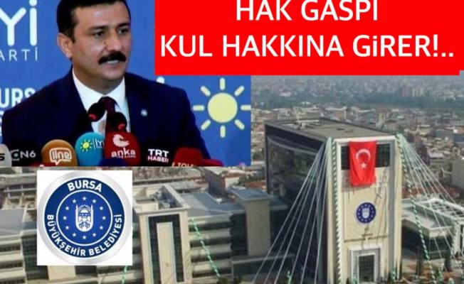 İYİ PARTİ BURSA İL BAŞKANI ''5 BİN İŞÇİYİ, 'CANLA BAŞLA' MAĞDUR ETMEYİN!