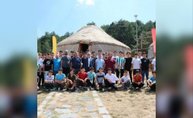 Kocayayla'da kamp keyfi başladı