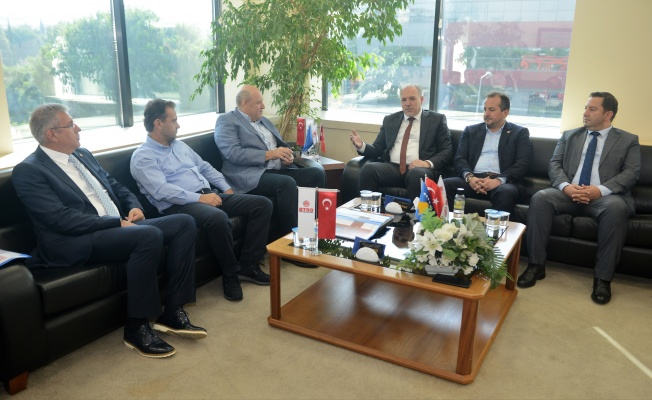 Kosova Bölgesel Kalkınma Bakanı Damka BTSO'da