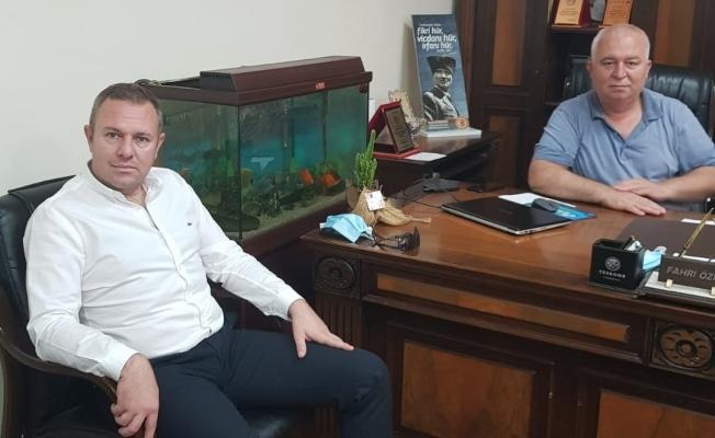 """KTSO Başkanı Soner Ilık'tan, Başkan Fahri Özkan'a """"Hayırlı olsun"""" ziyareti"""