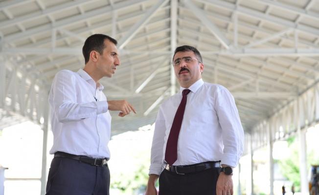 MİLLET MAHALLESİ KAPALI PAZAR ALANI'NDA SONA YAKLAŞILIYOR