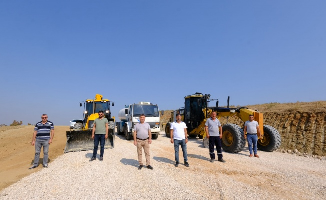 Nilüfer'de 8 ayda 15 kilometre yeni imar yolu açıldı