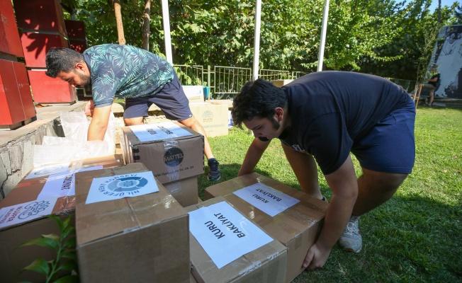 Nilüfer'den afetzedelere destek
