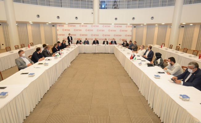 Ürdün Yatırım Komitesi İşbirliği İçin BTSO'da