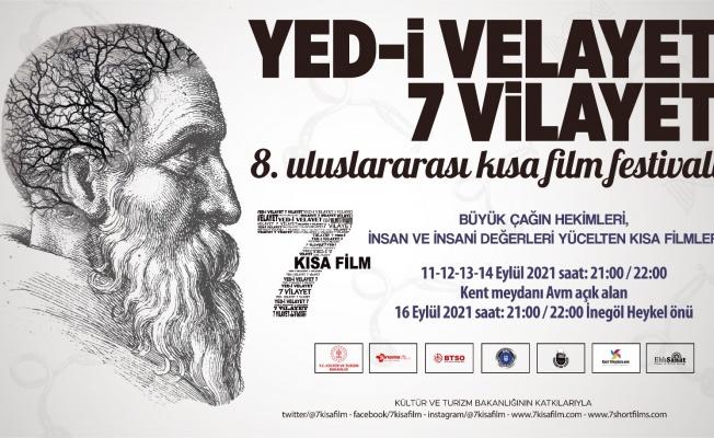 8. Uluslararası Yed-i Velayet 7 Vilayet Kısa Film Festivali 11 Eylül'de Başlıyor