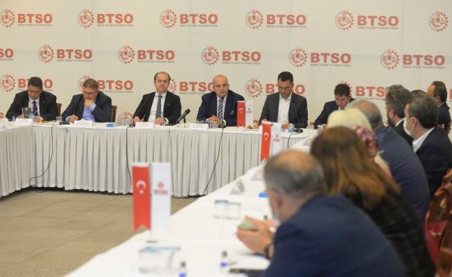 BTSO Demokrasi ve Atılım Partisi Heyetini Ağırladı
