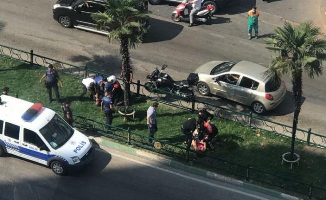 Bursa'da hırsızlık şüphelileri yaşanan arbedenin ardından gözaltına alındı