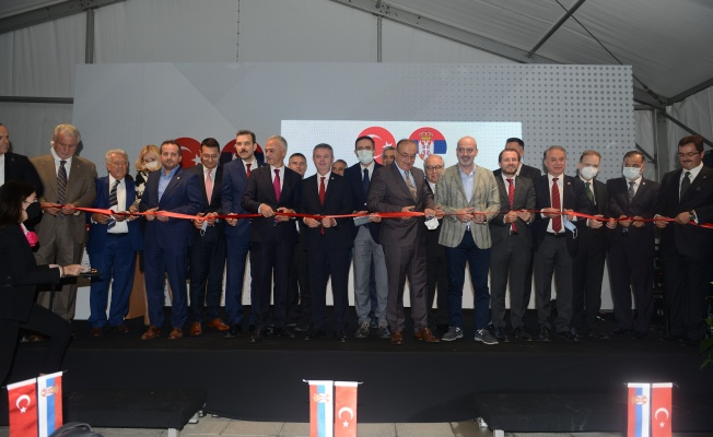 Sırbistan Cumhuriyeti Bursa Fahri Konsolosluğu törenle hizmete açıldı