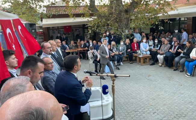 Türkoğlu bu kez Mudanya'dan seslendi