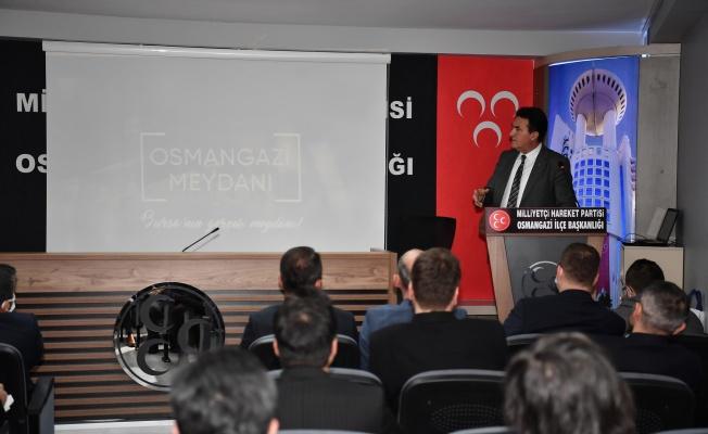 Başkan Dündar'dan MHP Osmangazi Teşkilatı'na Ziyaret