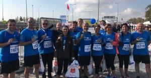 Tanap, İstanbul Maratonu#039;nda...