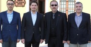 ÖZBOYACI'DAN TSYD KONYA ŞUBESİNE ZİYARET
