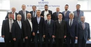 Ahmet Güleç, bir kez daha MOSFED'in başkanı seçildi
