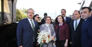 TİCARET BAKANI RUHSAR PEKCAN, BURSA'DA