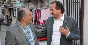 """VEKİL ÖZEN: """"CHP'NİN BURSA ADAYI HDP DESTEKLİDİR"""""""