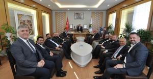 İTSO ALPER TABAN ZİYARETİ