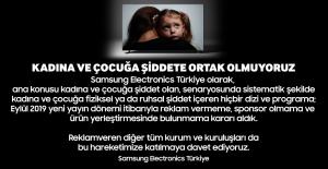 Samsung konusu kadına ve çocuğa şiddet...