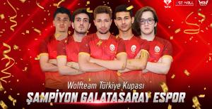 2019 WOLFTEAM TÜRKİYE KUPASI ŞAMPİYONU GALATASARAY ESPOR OLDU