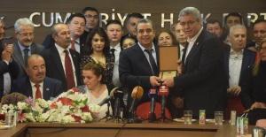 CHP BURSA İL BAŞKANI İSMET KARACA GÖREVİ DEVRALDI