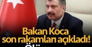 BAKAN KOCA ; KORONAVİRÜSTEKİ SON DURUM!