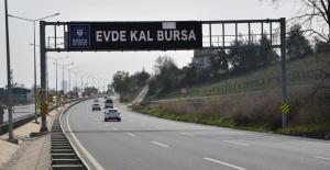 'EVDE KAL, BURSA'