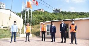 Başkan Salman Dağdan Denize Projeleri inceledi
