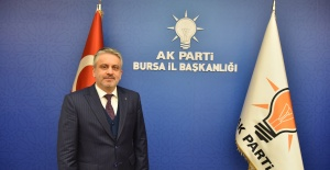 Bursa AK Parti'nin hedefi 500 bin üyeye ulaşmak