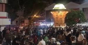 Bursa'da kalabalıklar yine tedbirsizdi