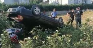 Bursa'da yüksek promilli kaza