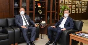 Bursa Valisi Yakup Canbolat BTSO'yu Ziyaret Etti