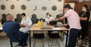 Bursa'da Sanayi Üretim Tesislerinde Antikor Testleri Devam Ediyor