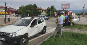 İnegöl'de trafik kazası: 1 yaralı