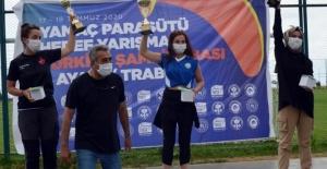 Nilüferli paraşütçüden Türkiye birinciliği
