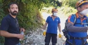 Panik atak Uludağ'da yakaldı