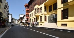 Bursa Büyükşehir Belediyesi Yeşil'i dönüştürdü