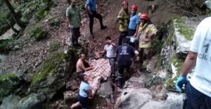 Bursa'da itfaiye ekiplerinden nefes kesen kurtarma