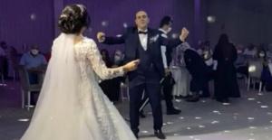Bursa'da sosyal mesafeli düğün