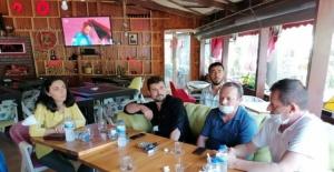 Bursa Milletvekili Kayışoğlu servis taşımacılığı yapan esnafın sorunlarını dinledi