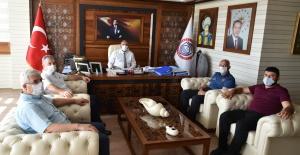 Emniyet Müdürü Sadık Elden'den Başkan Aydın'a ziyaret